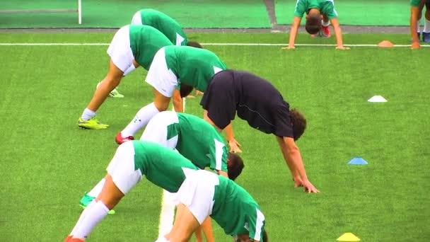 FOOTBALL JUNIOR TRAINING SPORT OURENSE GALICIA 08-17-17