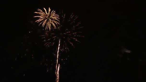 Aplikace Fireworks normální světla noci