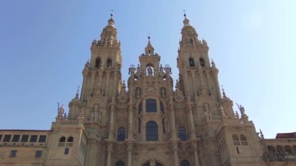 FACADE OF CATHEDRAL OF SANTIAGO DE COMPOSTELA