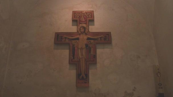 BROWN CROSS OF JESUS CHRIST