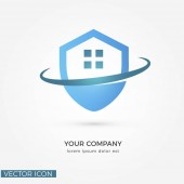 HOME SECURITY ICON/VECTOR