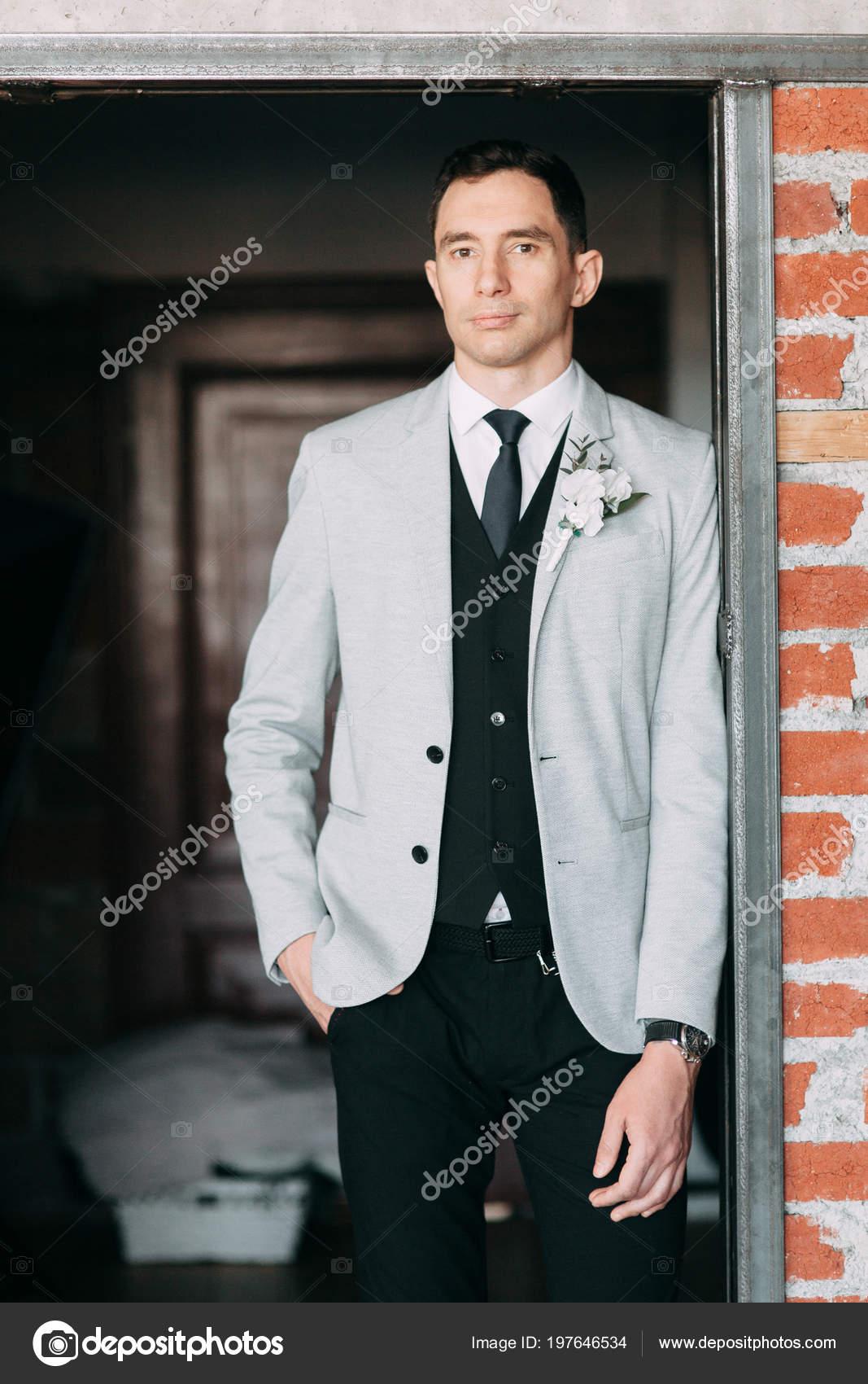 Beautiful Wedding European Style Light Blue Colors Couple