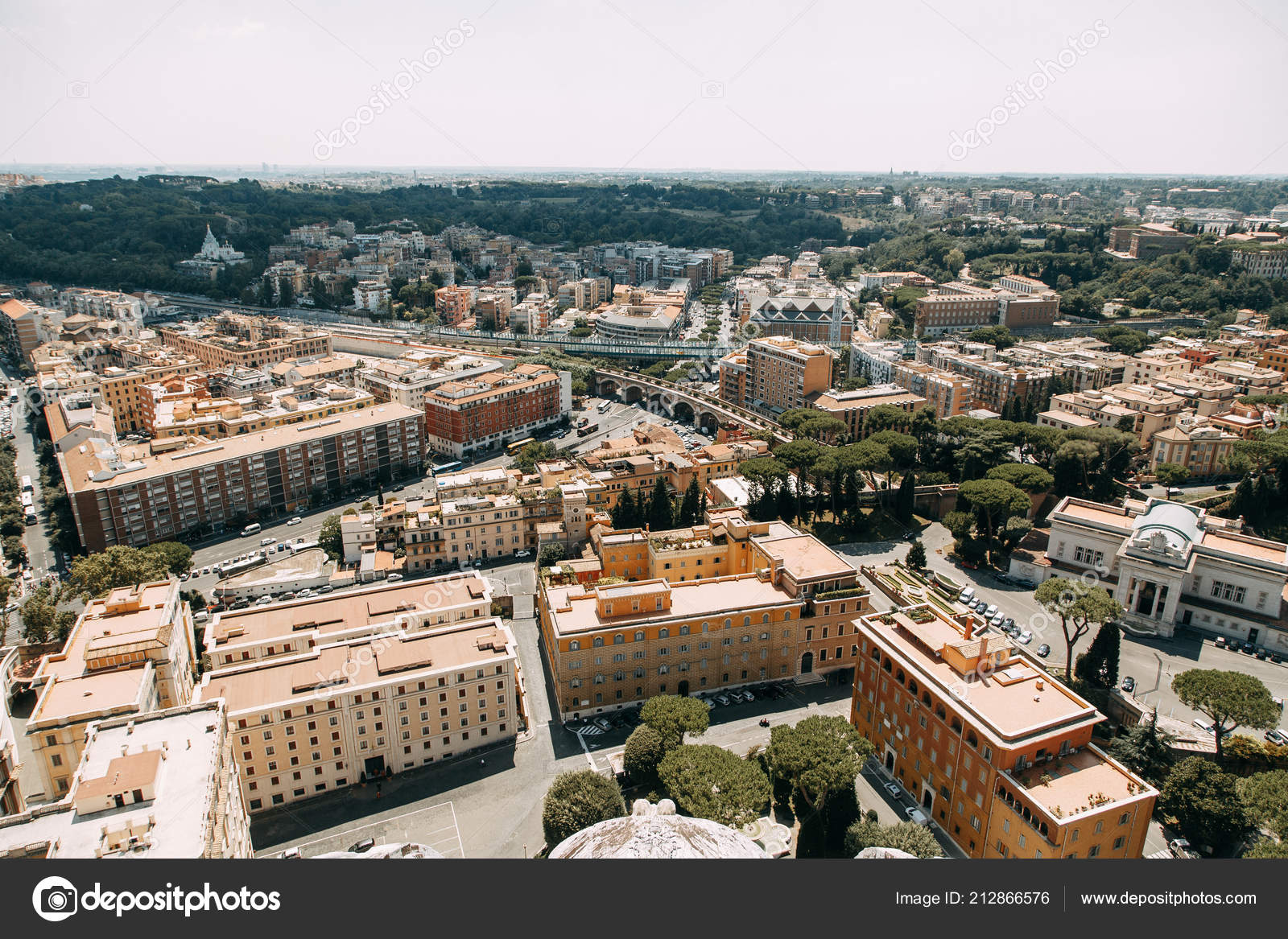 dff5f46b4e5ca3 Vatican City Peter Square View Top Ancient Architecture Rome Sights ...
