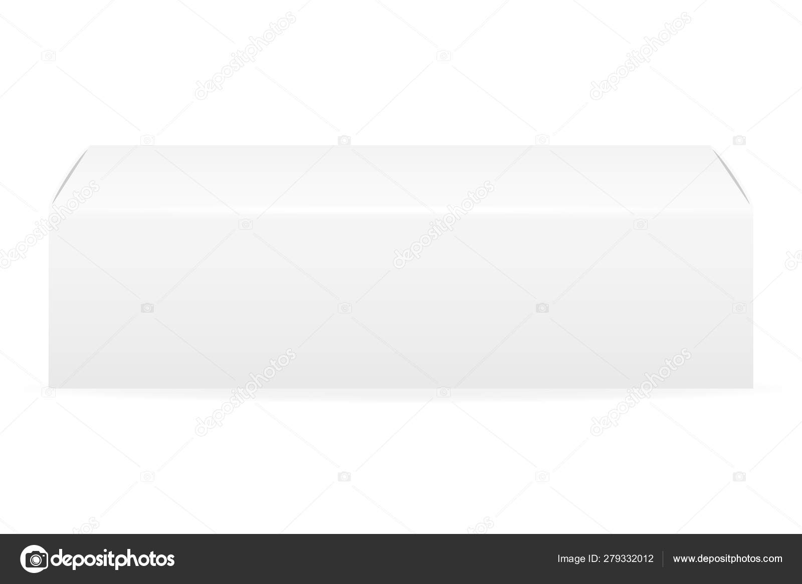 Box Packaging Of Toothpaste Empty Template For Design Stock Vect Stock Vector C Sanskript81 Yahoo Com 279332012