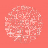 Seznamka s ikonou srdce