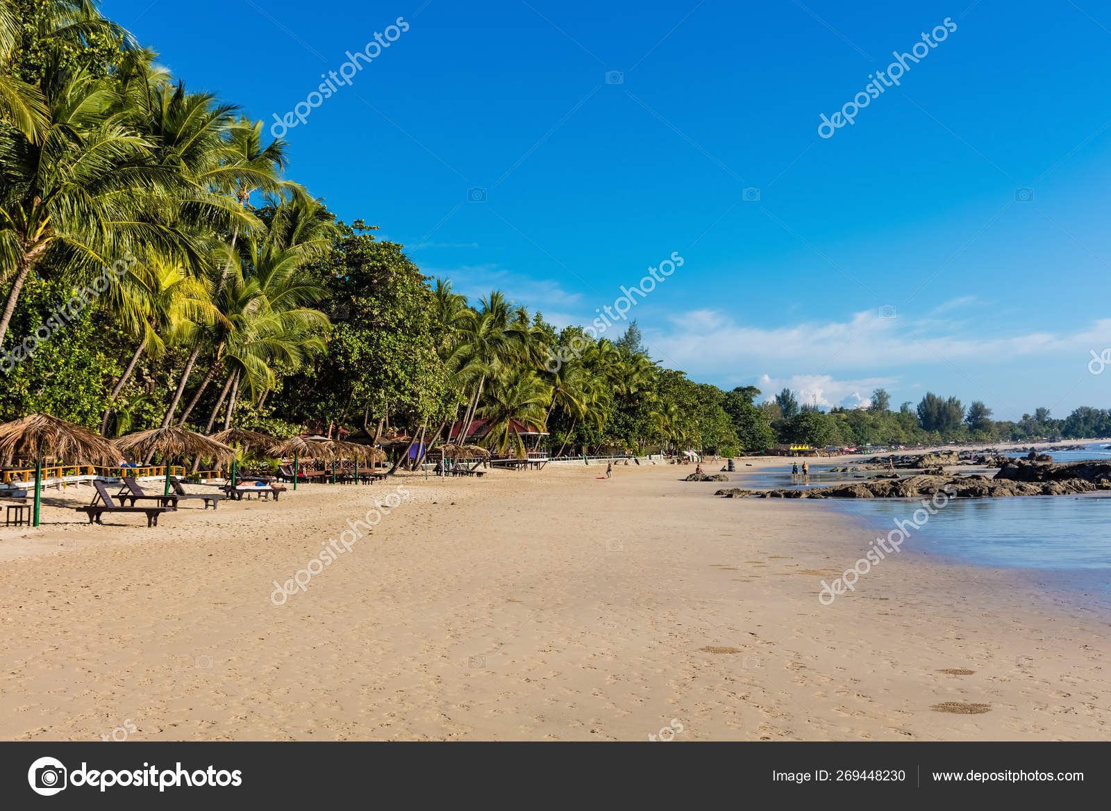 Ngapali Beach Rakhine state Myanmar — Stock Photo