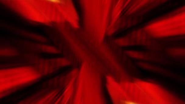 Absztrakt mozgás hátterét egy robbanás a vörös grafikus alakzatok