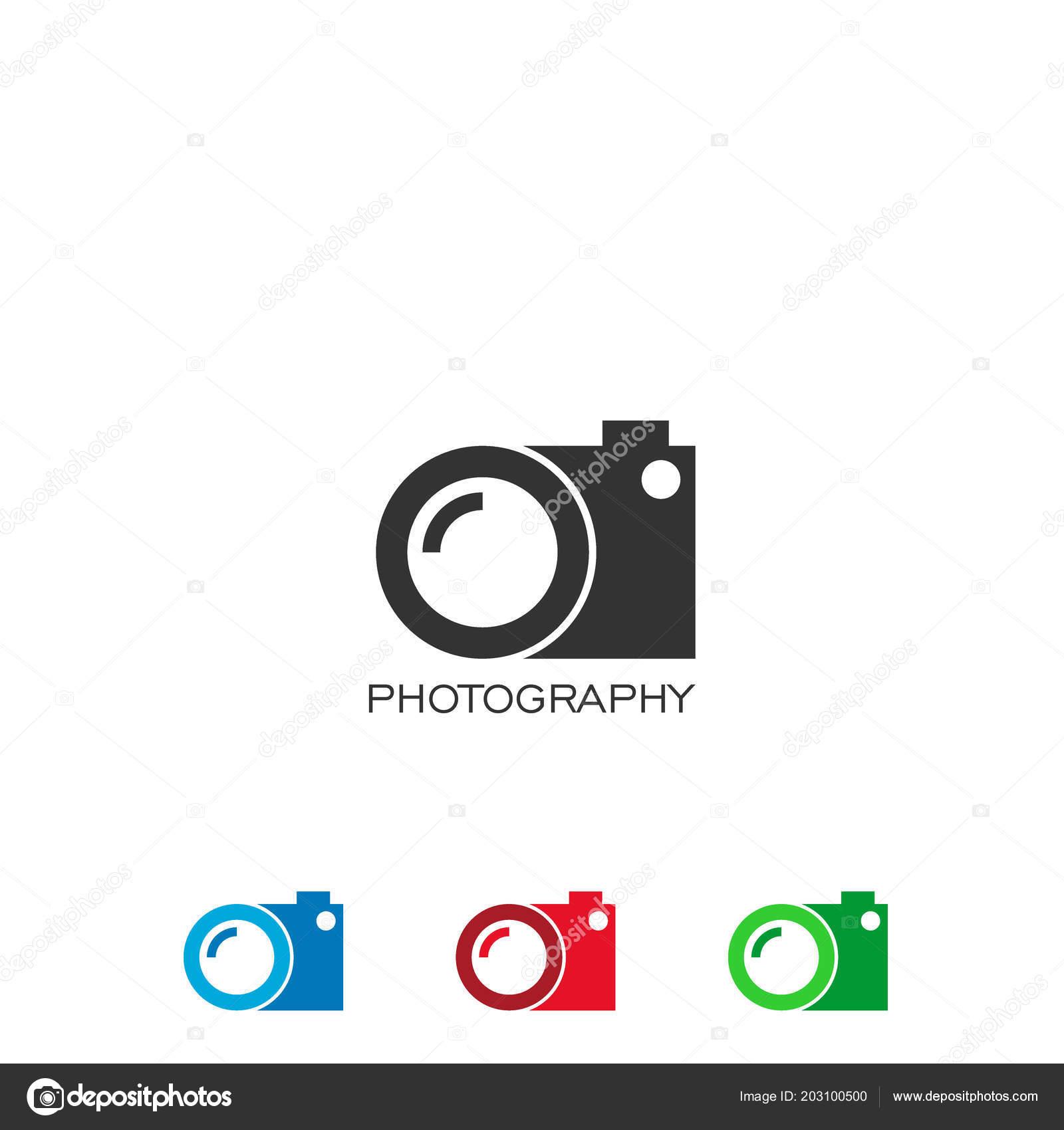 Lense Logo Lens Logo Design Camera Logo Photography Vector Icons Stock Vector C Muslihalamin 203100500