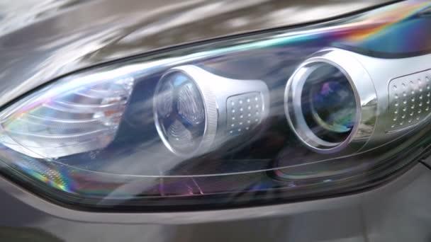 Fari dellautomobile. Elementi di auto moderne.