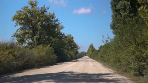 bod pohledu, den země straně, polní cesta, jízda.