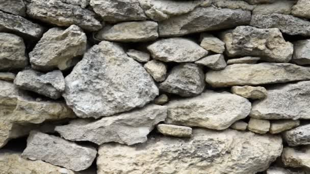 Textura kamenné zdi. Starý hrad kamenná zeď texturu pozadí. Kamenná zeď jako pozadí nebo textury. Fotoaparát, přesun.