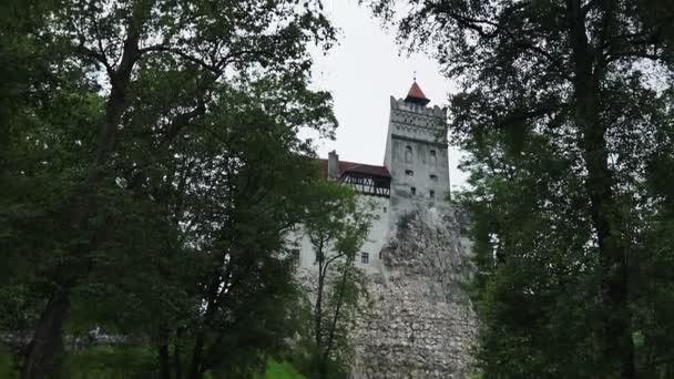 Bran, Castello di Dracula: Terra della Transilvania, Castello di Bran, Leggenda di Dracula. Vista estiva in una giornata di sole