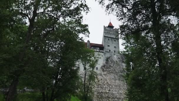 Bran, Dracula Castle: Transylvania land, Bran Castle, Dracula Legend. Summer view in a sunny day