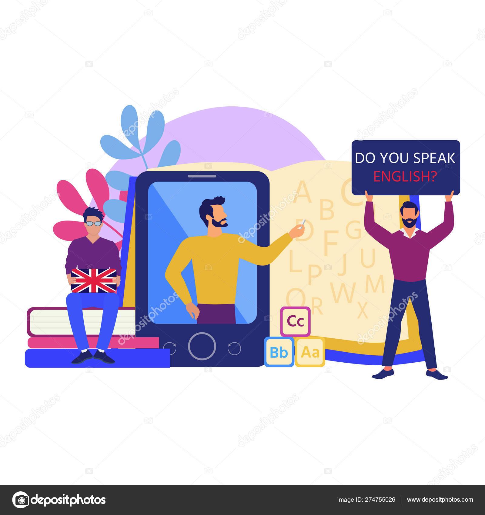 Online Learning Training Teaching Seminar Education Concept Vector Illustration Suitable Stock Vector C Kos911 274755026