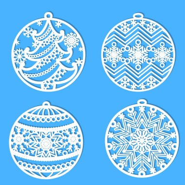 set of 3 SVG vector pattern for laser cutting Kumiko style earrings