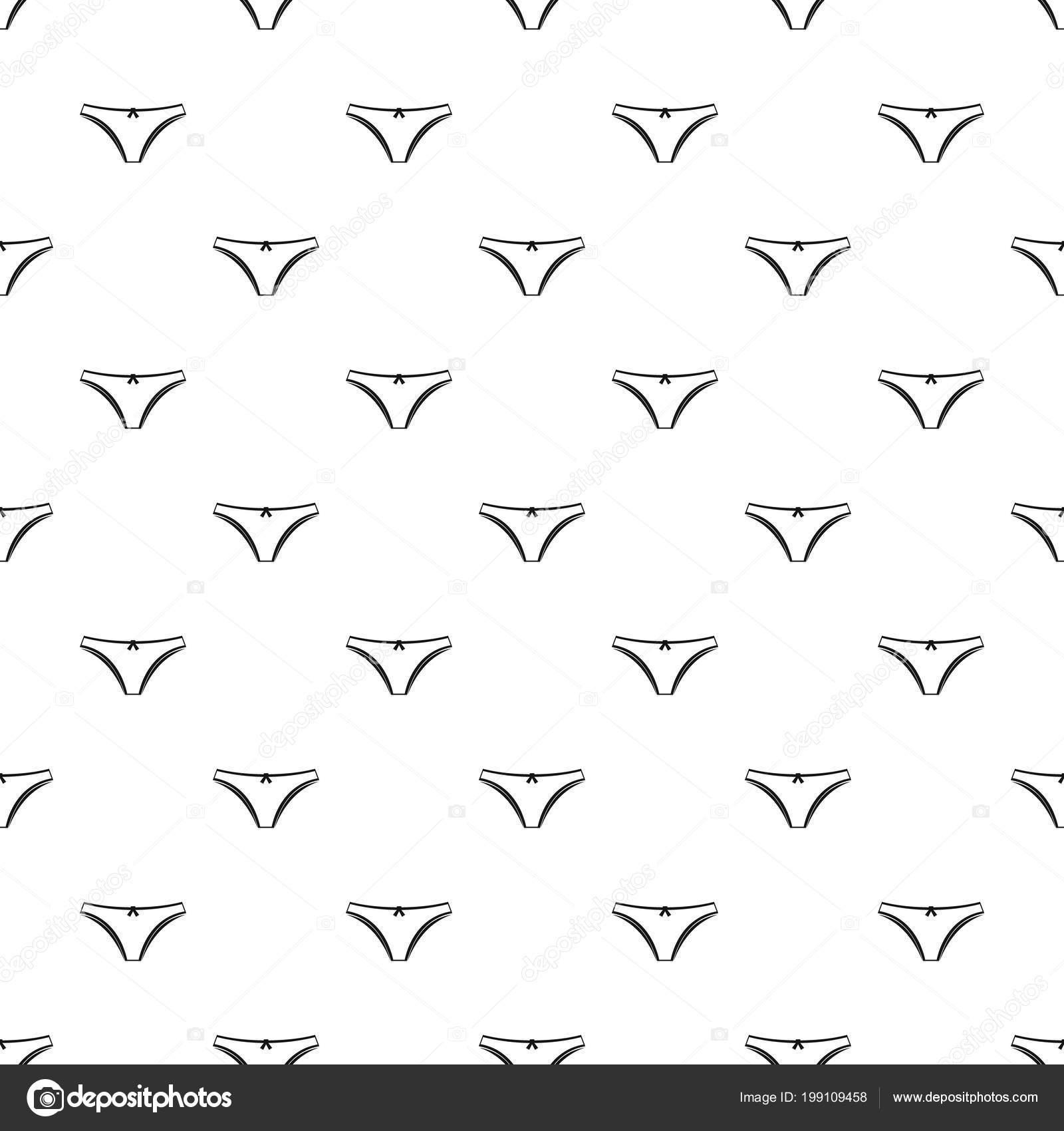 Vector patrón de bragas — Archivo Imágenes Vectoriales © ylivdesign ...