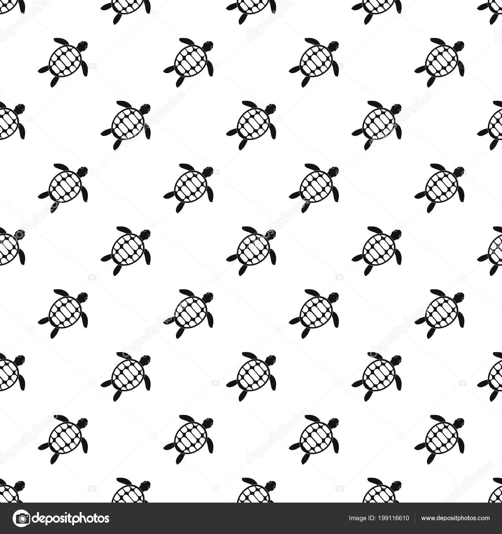Vector patrón de tortuga — Archivo Imágenes Vectoriales © ylivdesign ...