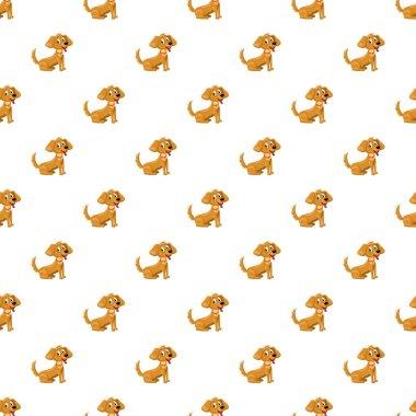 Brown dog pattern