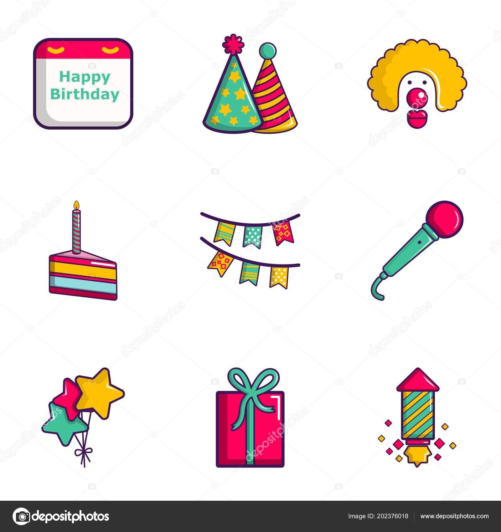 Icono de feliz cumpleanos gratis