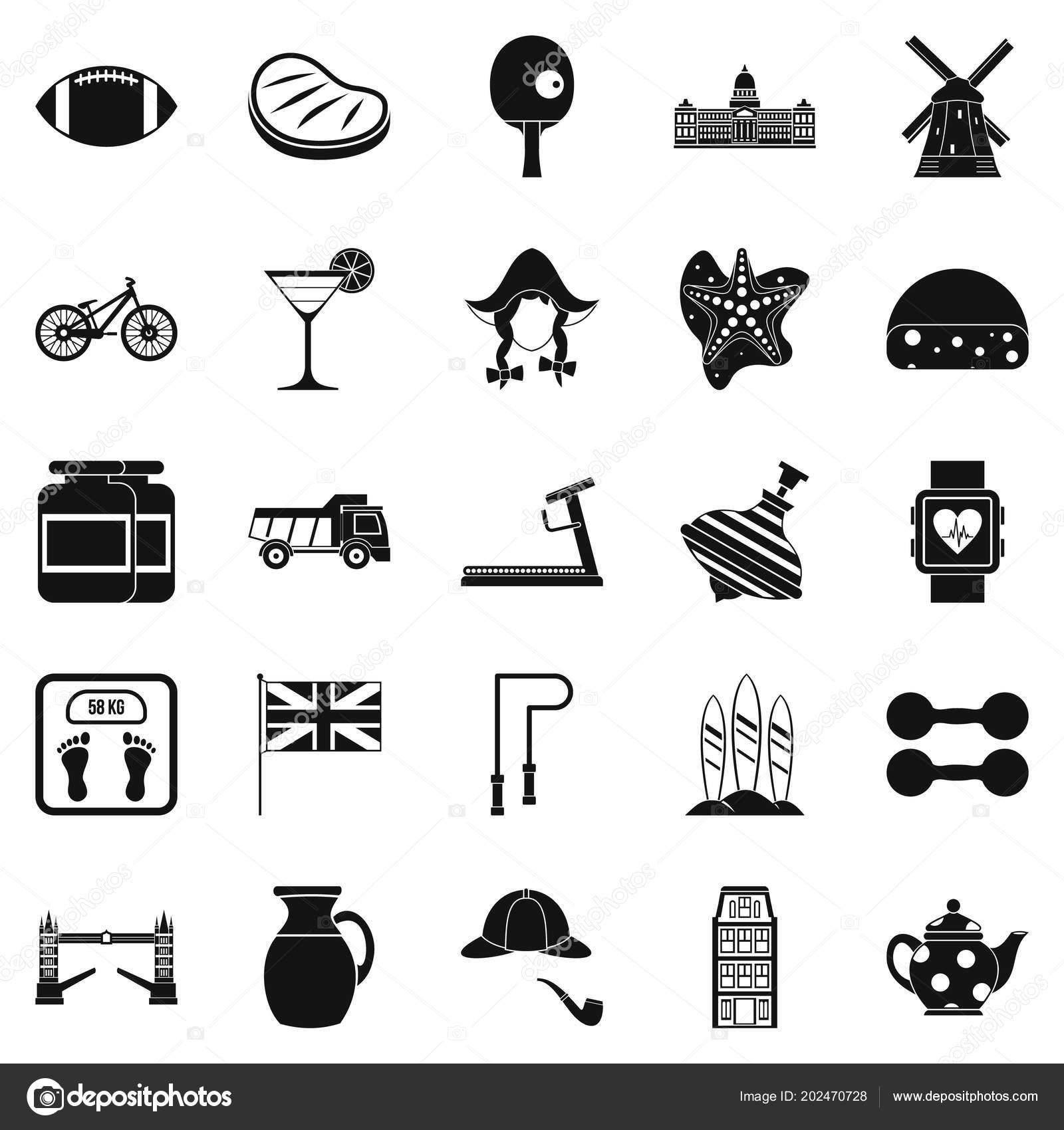 f262be6ac0c9 Anglický sportovní ikony nastavit