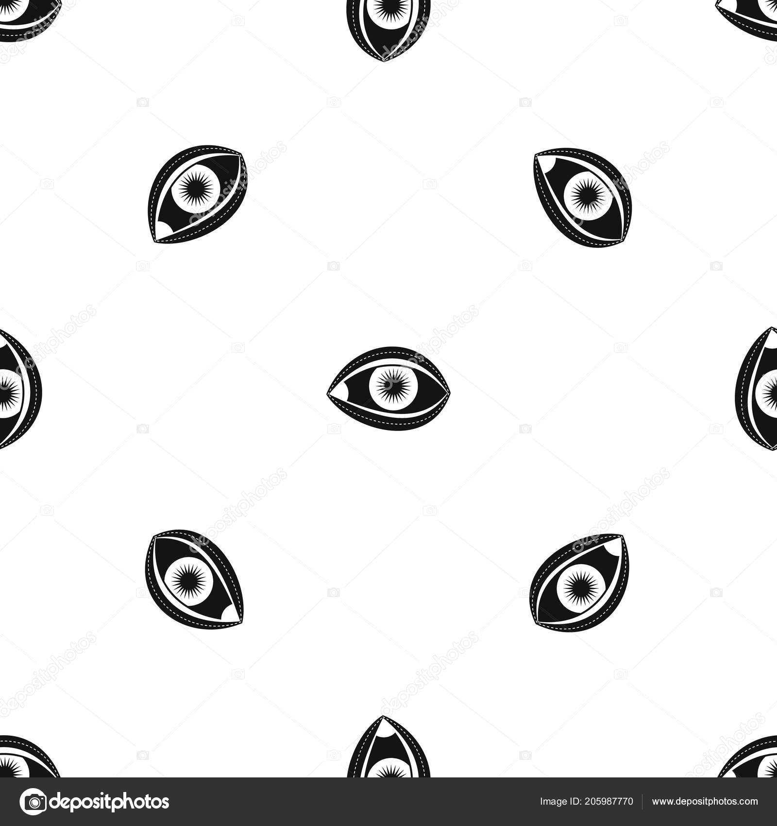 Plastic surgery of eye pattern seamless black vetores de stock plastic surgery of eye pattern seamless black vetores de stock ccuart Images