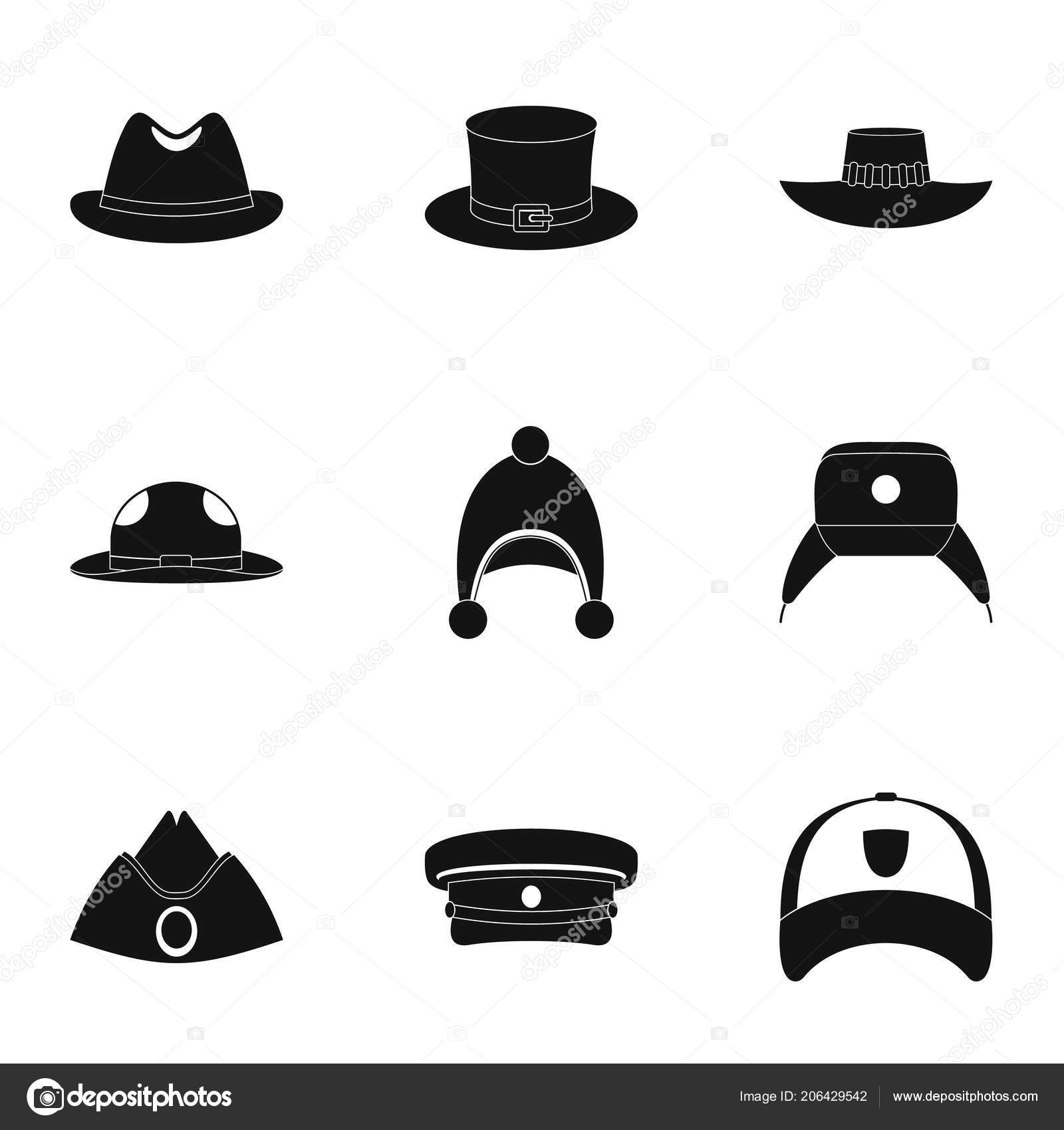 Hat accessory icon set. Simple set of 9 hat accessory vector icons for web  isolated on white background — Vector by ylivdesign. Find Similar Images 028ed66c6661