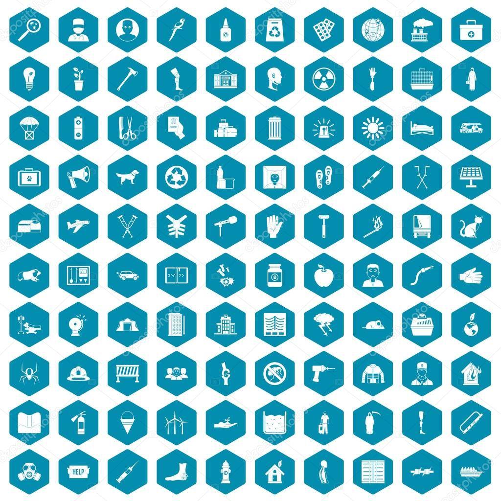 100 help icons sapphirine violet