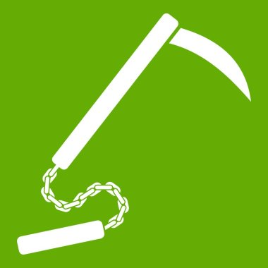 Kusarigama icon green