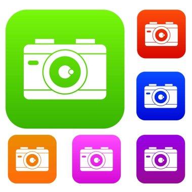 Photo camera set collection