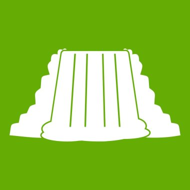 Niagara Falls icon green