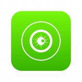 Fotografia Occhio verde digitale di icona