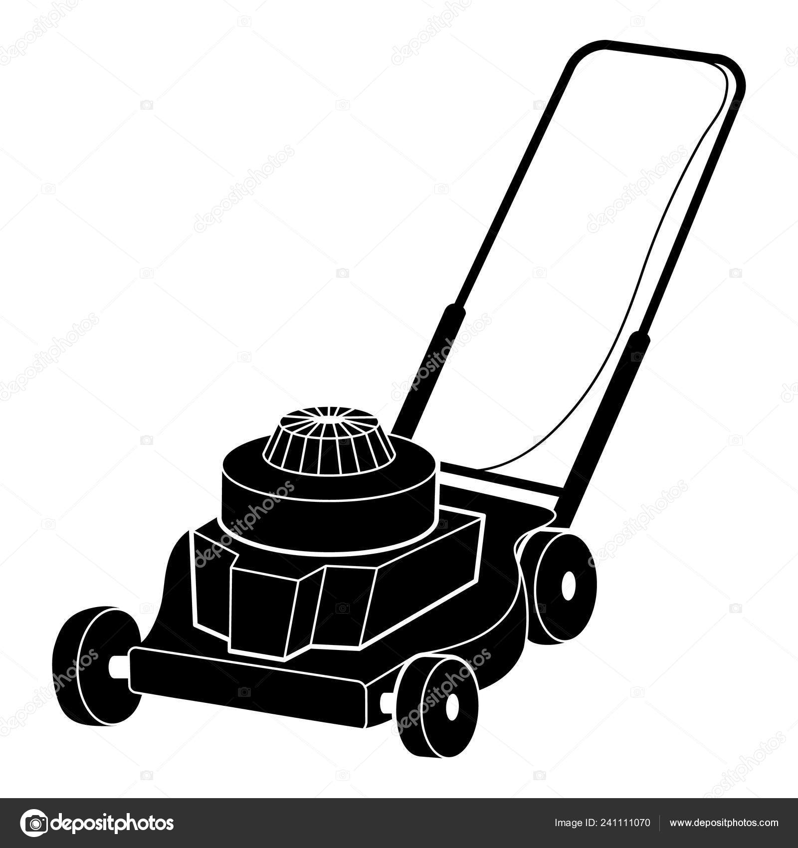 Petrol Lawn Mower Icon Simple Style Stock Vector Image By C Ylivdesign 241111070