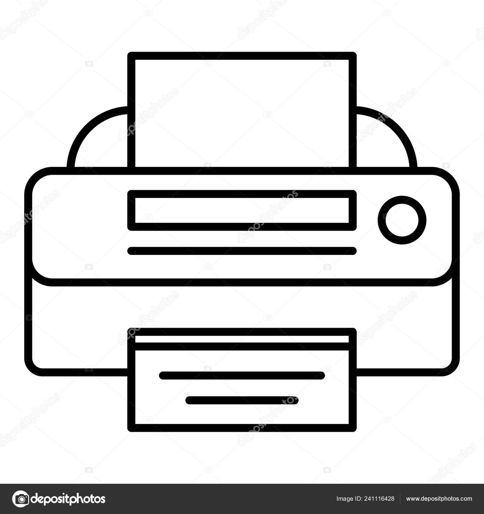 Значок принтера в области уведомлений фото