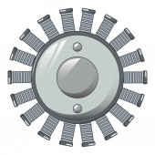 Multiple-Coil-Symbol, Cartoon-Stil