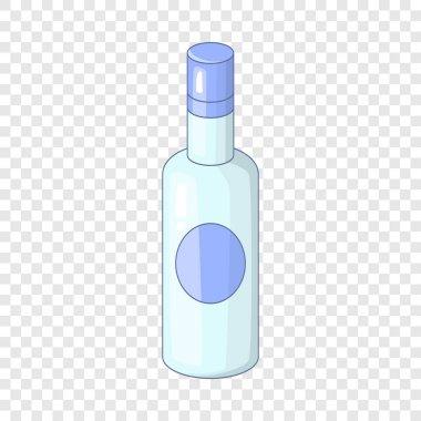 Vodka icon, cartoon style