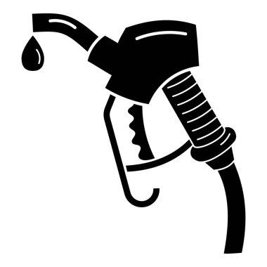 Petrol pistol icon, simple style