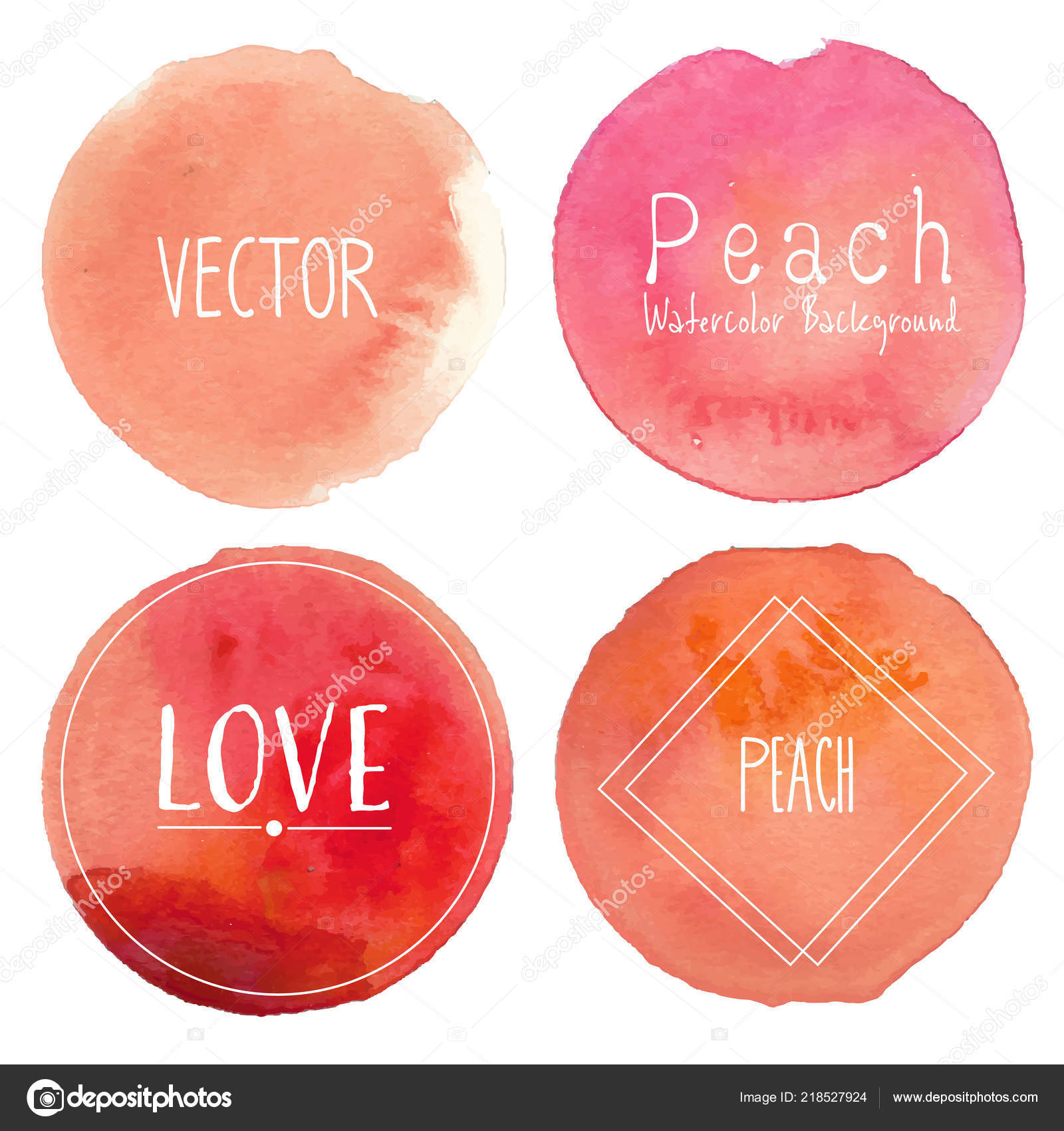 Background Peach Watercolor Peach Watercolor Background Pastel