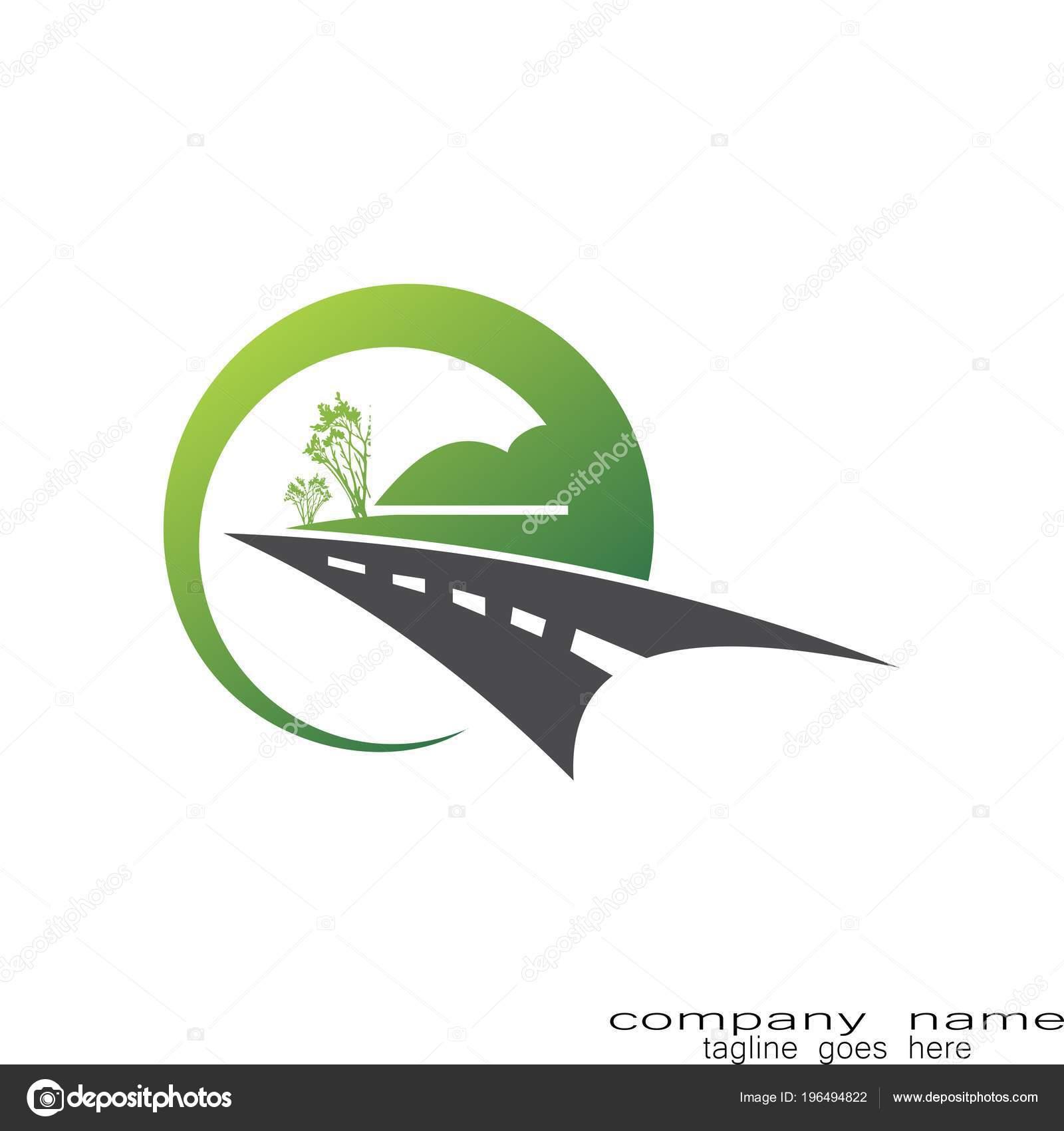 Landscape Logo Ideas Creative Sample Design Landscape Logo Road