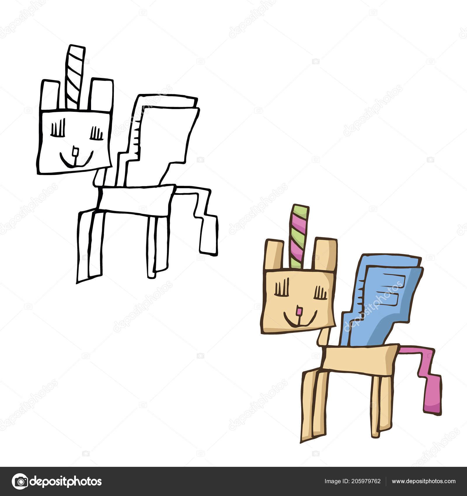 Disegni Gatti Per Bambini Unicorno Gatto Disegno Bambini