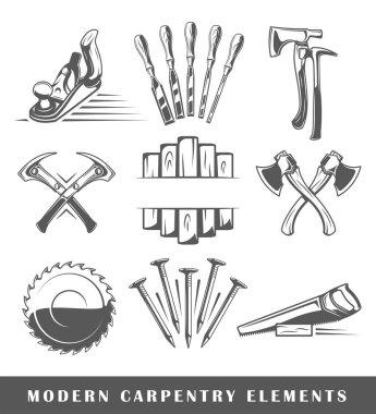 Modern carpentry tools