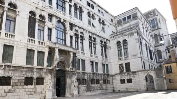 Renesanční architektura closeup panoramatický pohled, Itálie, Benátky