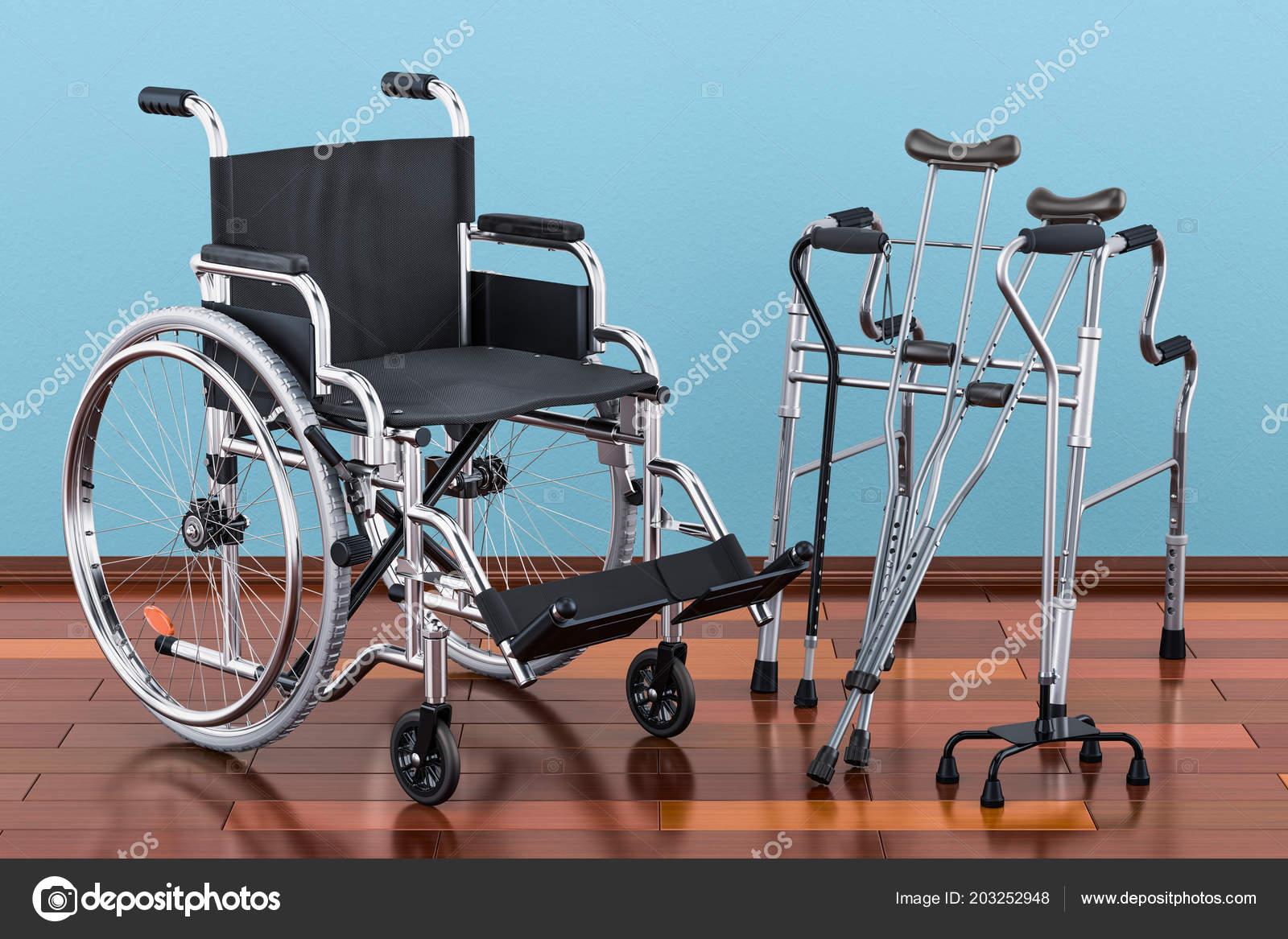 инвалидной коляске ходьба рама костыли деревянный пол