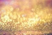 třpytky zlaté bokeh Colorfull rozmazané pozadí abstraktní pro narozeniny, výročí, svatby, nový rok, Silvestr nebo Vánoce.