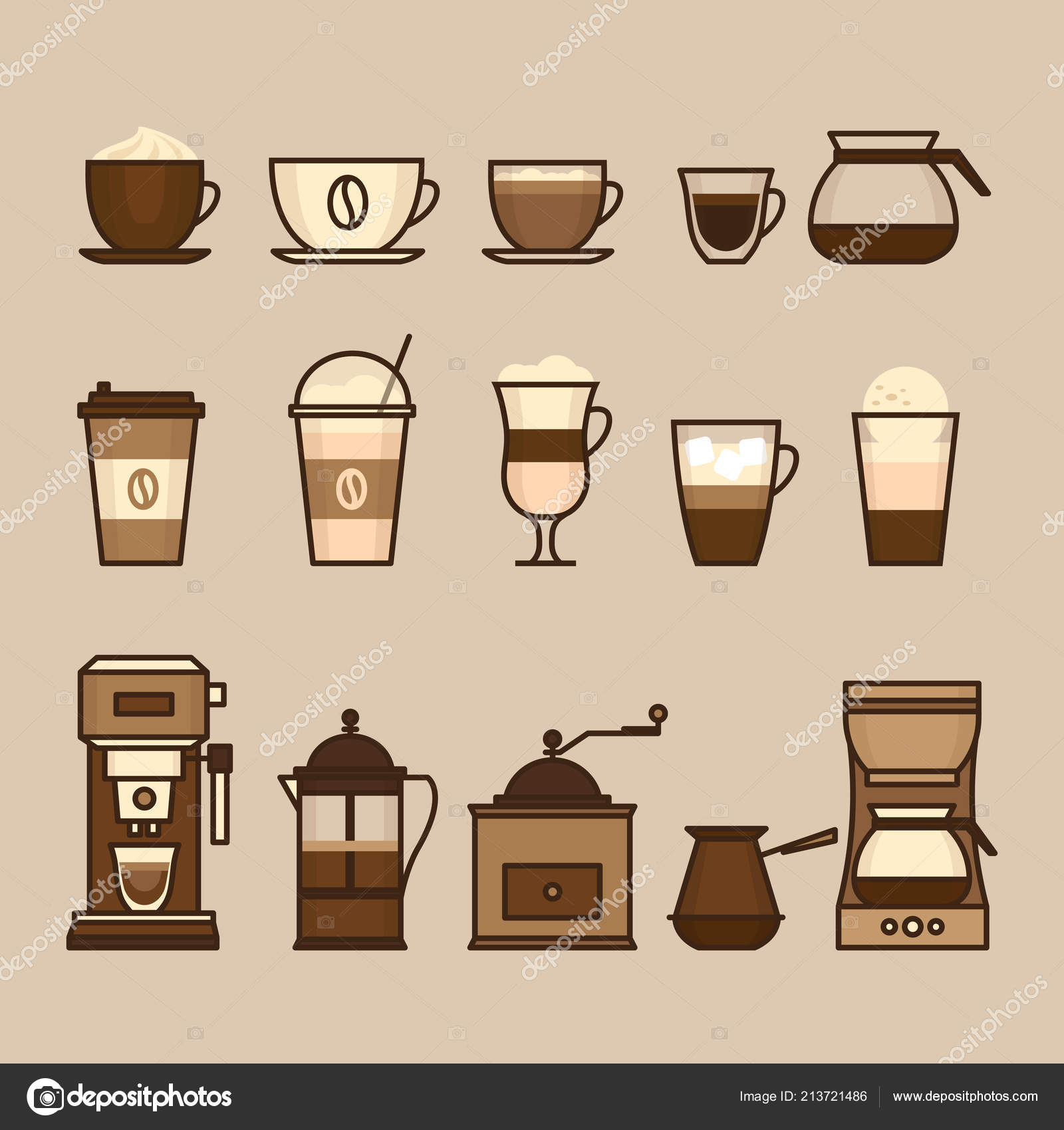 Coffee Objects Equipment Cup Coffee Brewing Methods Coffee Makers