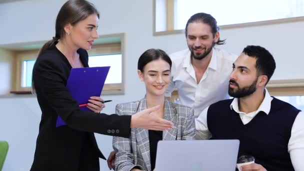 Business Deal. People Shaking Hands On Meeting In Office