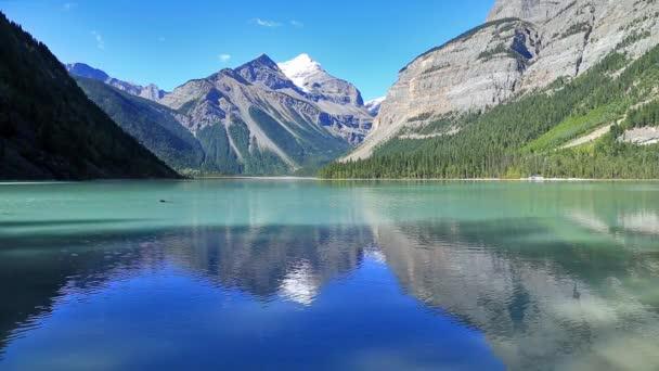 Kinney tó Mount Robson tartományi Park Brit Columbia, Kanada.