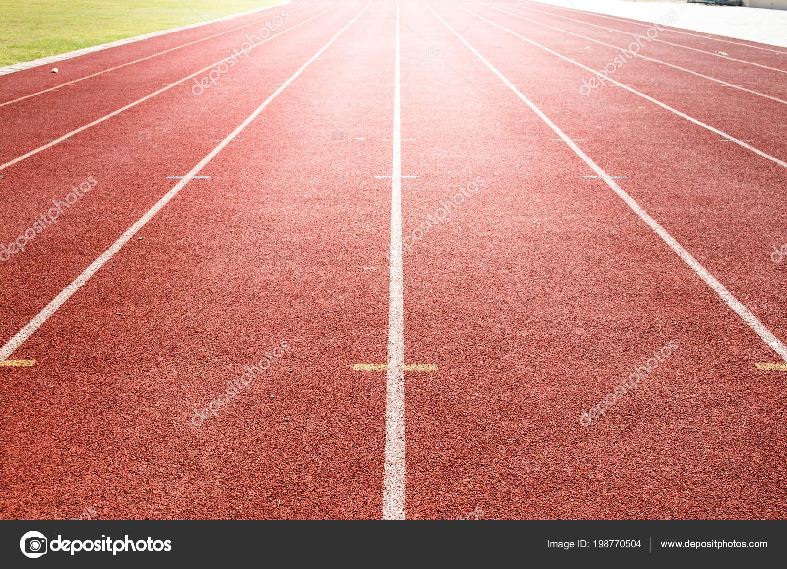 red running track background stock photo rteenattapong 198770504