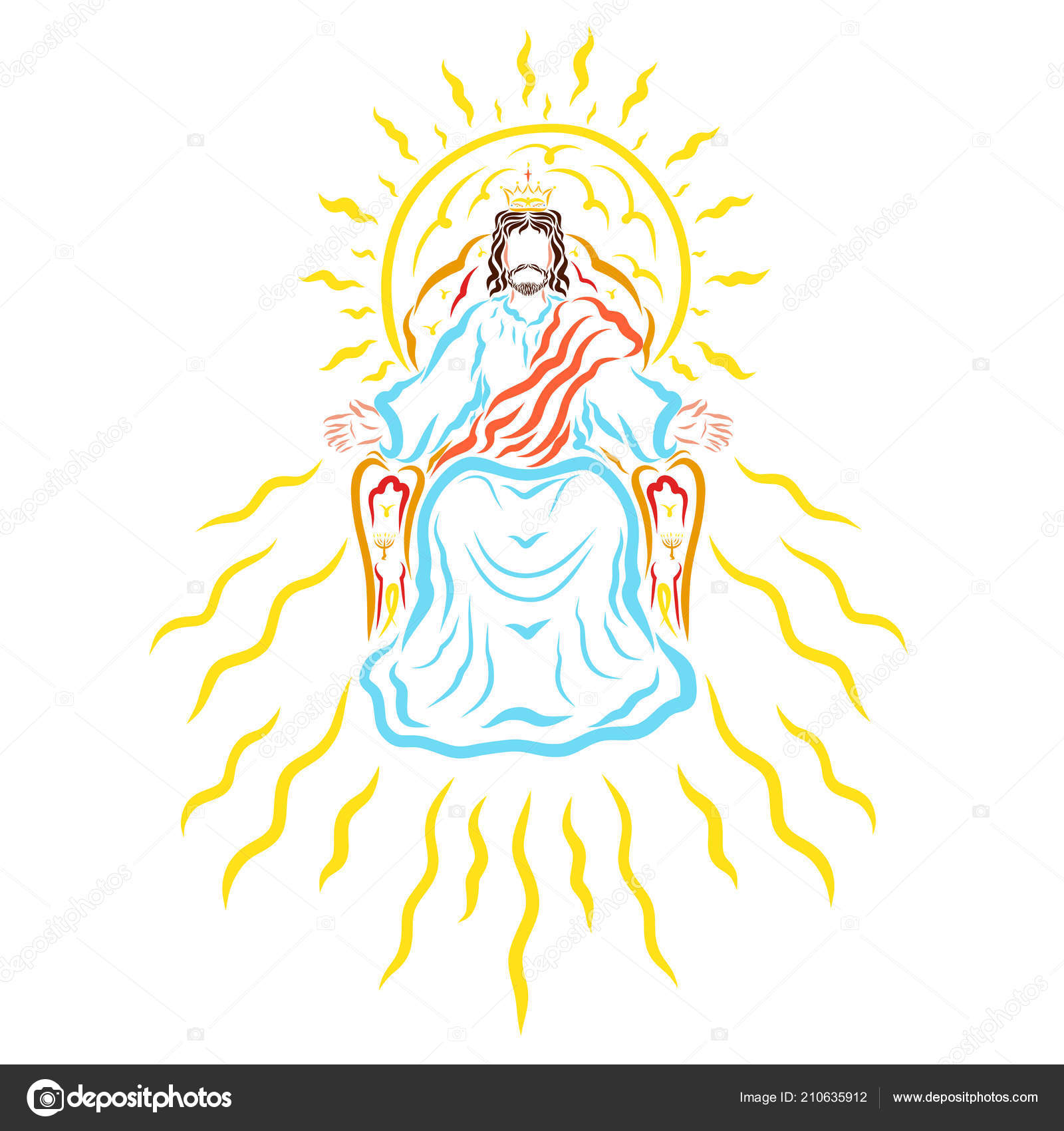 Lord jesus heavenly throne crown sunshine stock photo yuliya4 lord jesus heavenly throne crown sunshine stock photo thecheapjerseys Image collections