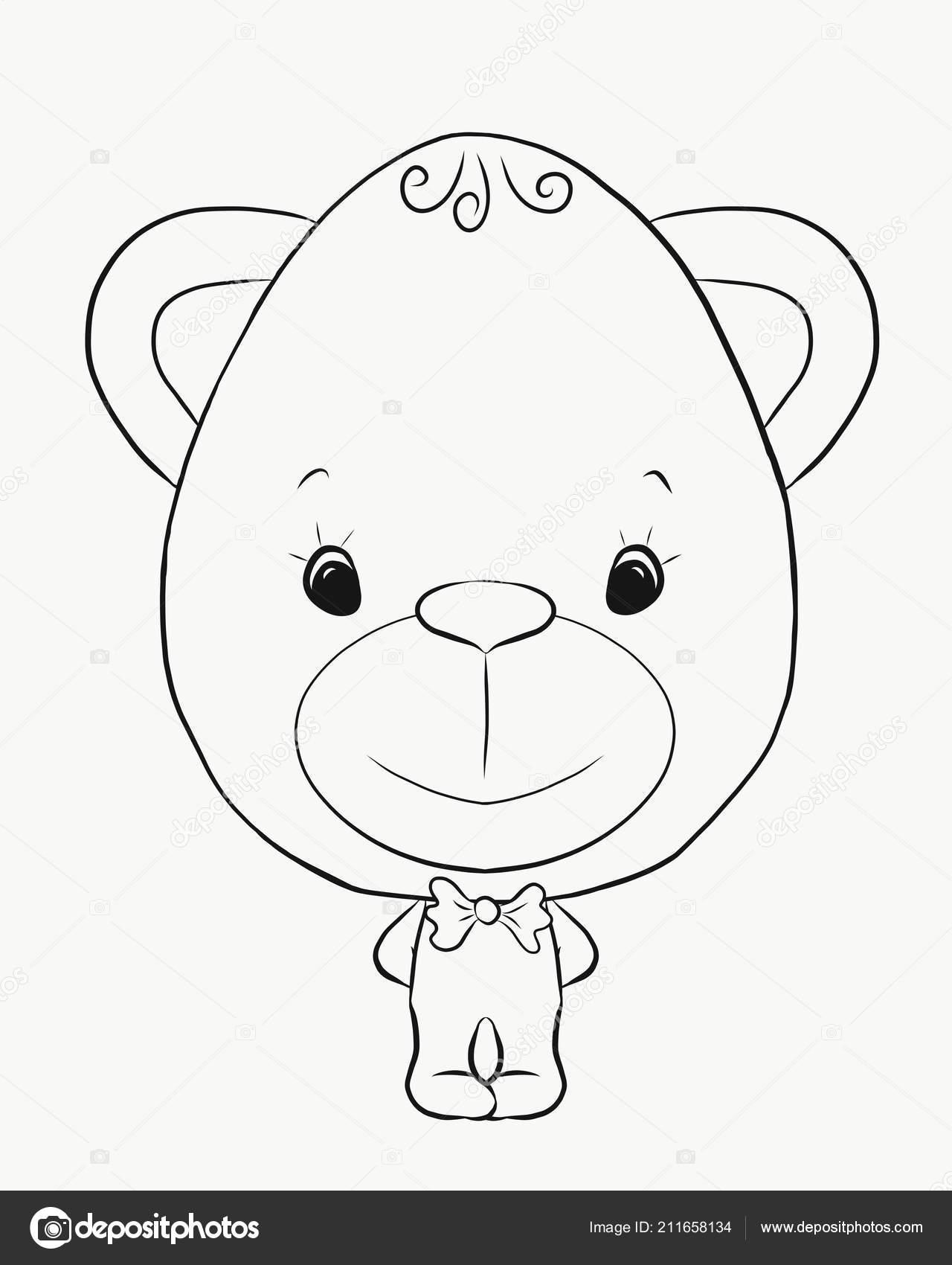 Coloriage Un Garcon.Coloriage Garcon Petit Funny Bear Photographie Yuliya Nazaryan