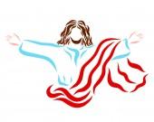 auferstanden oder in den Himmel aufgestiegen, der selige Herr Jesus